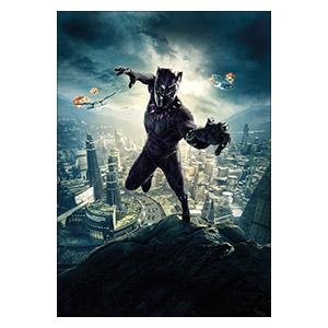 Black Panther. Размер: 35 х 50 см